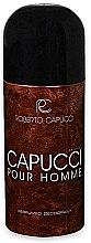 Profumi e cosmetici Roberto Capucci Capucci Pour Homme - Deodorante spray