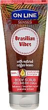 Profumi e cosmetici Scrub corpo - On Line Senses Body Scrub Brasilian Vibes