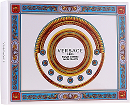 Profumi e cosmetici Versace Eros Pour Femme - Set (edt/50ml + b/lot/50ml + sh/gel/50ml)