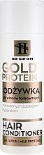 Profumi e cosmetici Balsamo per capelli tinti - Hegron Gold Protein Hair Conditioner
