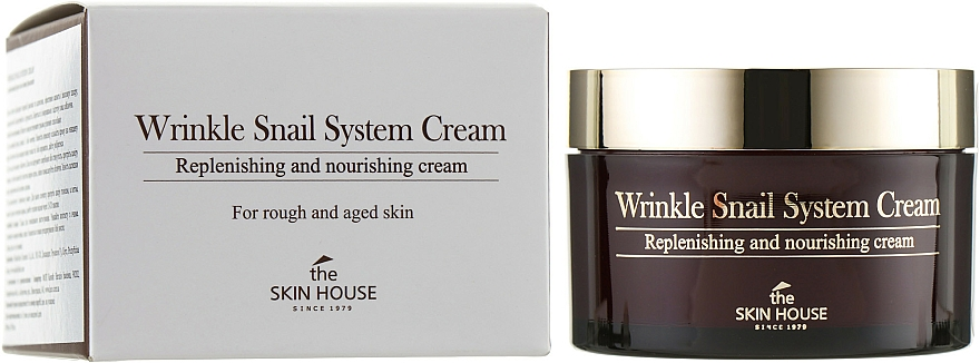 Crema antietà alla bava di lumaca - The Skin House Wrinkle Snail System Cream