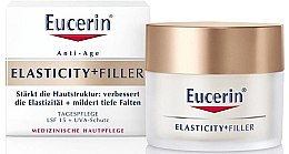Profumi e cosmetici Crema giorno anti-età per il viso - Eucerin Hyaluron-Filler + Elasticity Day SPF15 Cream