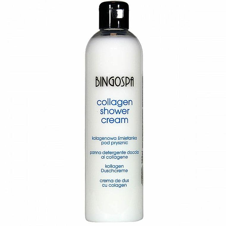 Crema doccia al collagene - BingoSpa