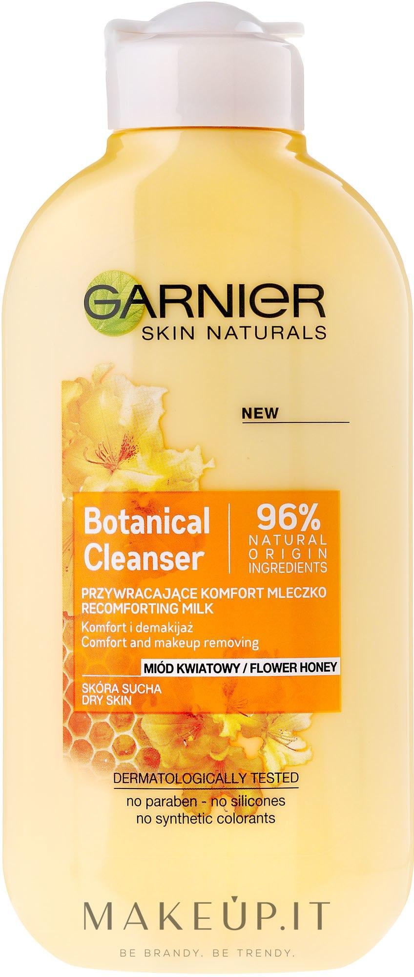 Latte struccante - Garnier Skin Naturals Botanical Flower Honey — foto 200 ml