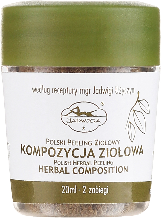 Peeling alle erbe - Jadwiga Herbal Composition Peeling