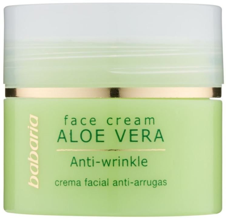 Crema viso all'aloe vera - Babaria Aloe Facial Wrinkle Cream