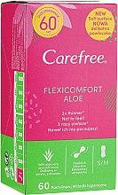 Profumi e cosmetici Assorbenti igienici 60pz - Carefree Flexi Comfort Aloe Extract