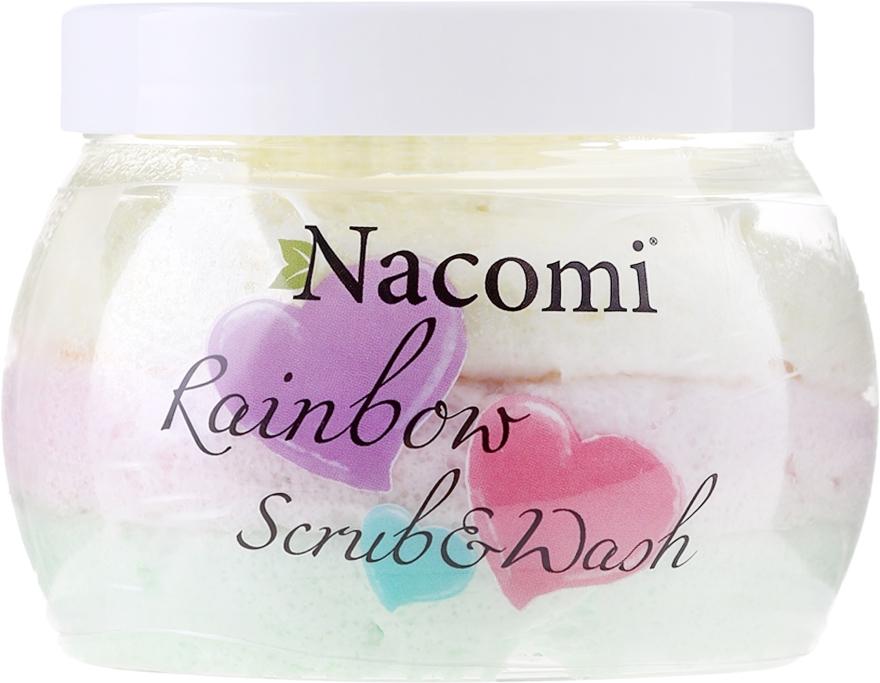 Scrub corpo, profumo di anguria - Nacomi Rainbow Scrub & Wash