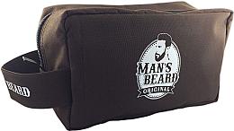 Profumi e cosmetici Beauty case, da viaggio, da uomo, tessuto, rettangolare - Man's Beard Men's Toiletry Bag