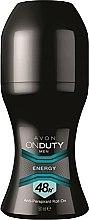 Deodorante antitraspirante - Avon On Duty Men Energy Antiperspirant Roll-On — foto N1