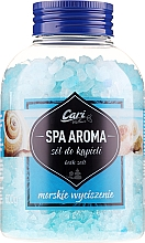 Profumi e cosmetici Sale da bagno, blu - Cari Spa Aroma Salt For Bath