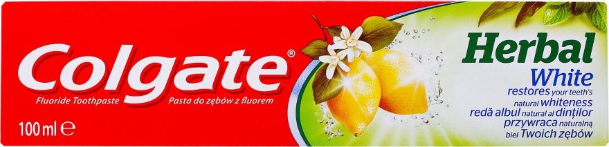 Dentifricio sbiancante - Colgate Herbal White With Lemon Oil
