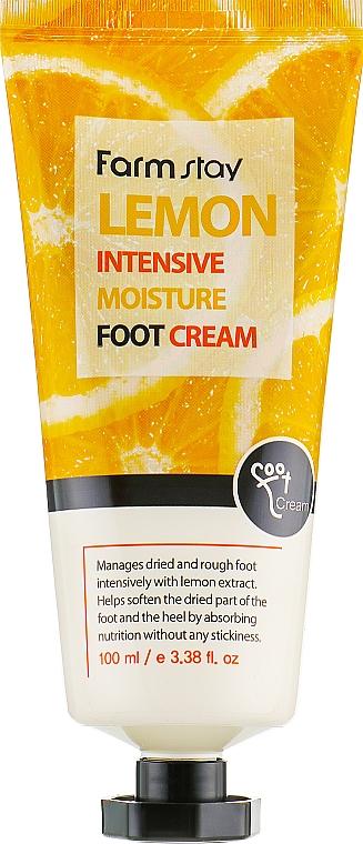 Crema piedi con estratto di limone - FarmStay Lemon Intensive Moisture Foot Cream