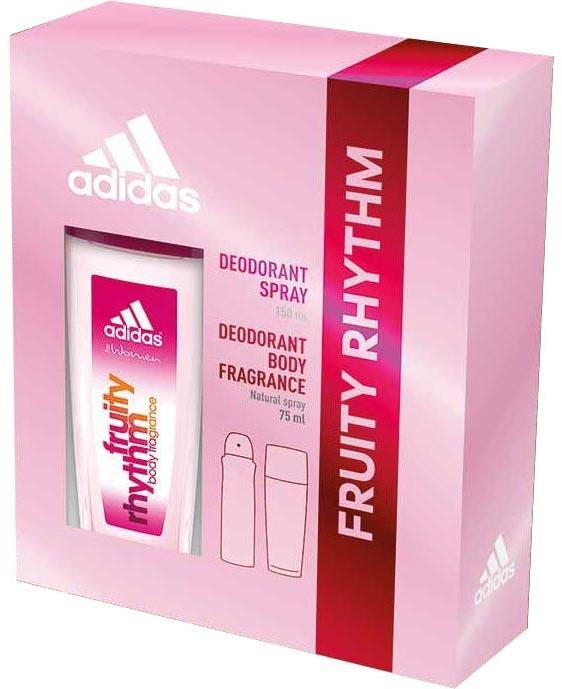 Adidas Fruity Rhythm - Set (deo/spray/75ml+deo/150ml)