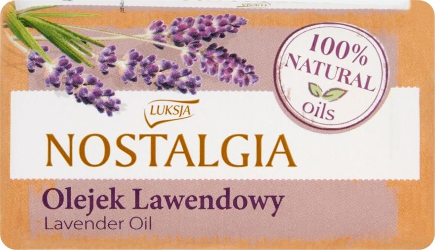"Sapone ""Olio di lavanda"" - Luksja Nostalgia Lavender Oil Soap"