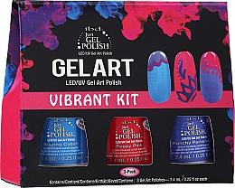 Profumi e cosmetici Set - IBD Gel Art Vibrant Kit (nail/lacquer/7,4mlx3)