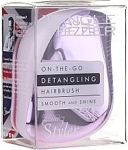 Profumi e cosmetici Spazzola districante per capelli - Tangle Teezer Compact Styler Lilac Gleam