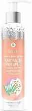 "Profumi e cosmetici Balsamo mani e corpo ""Cardamomo e vetiver"" - Kabos Cardamon & Vetiwer Hand & Body Lotion"