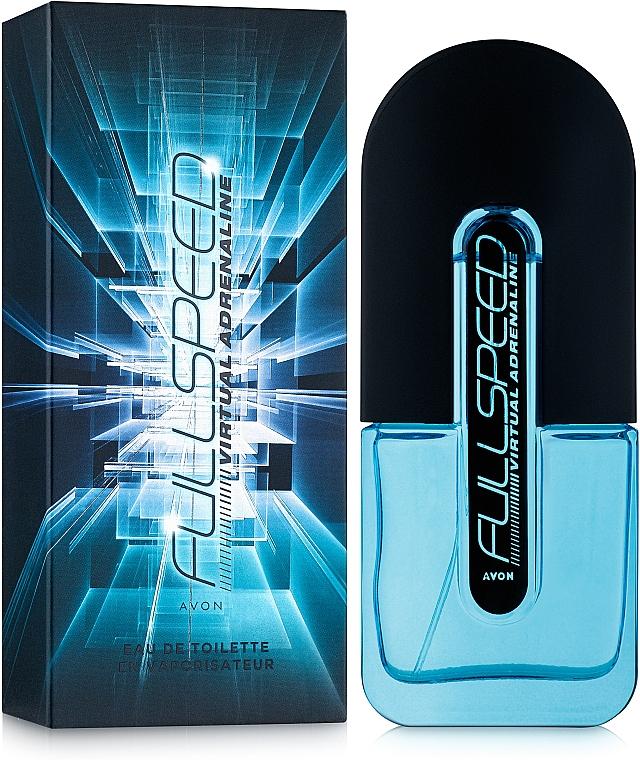Avon Full Speed Virtual Adrenaline - Eau de Toilette — foto N2