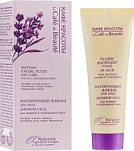 Profumi e cosmetici Lozione viso nutriente e opacizzante per la pelle grassa e problematica - Le Cafe de Beaute Matting Fluid