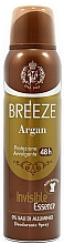 Profumi e cosmetici Breeze Deo Spray Argan - Deodorante corpo