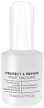Profumi e cosmetici Tintura per unghie antibatterica - Alessandro International Spa Protect & Repair Foot Tincture