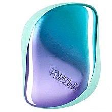 Profumi e cosmetici Spazzola capelli compatta - Tangle Teezer Compact Styler Petrol Blue Ombre