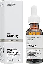 Profumi e cosmetici Olio di argan marocchino biologico spremuto a freddo - The Ordinary 100% Organic Cold-Pressed Moroccan Argan Oil