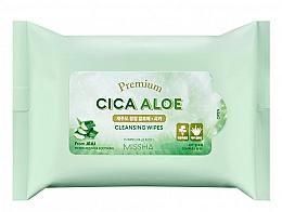 Profumi e cosmetici Salviettine detergenti - Premium Cica Aloe Cleansing Wipes