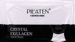 Profumi e cosmetici Maschera con collagene per il collo - Pilaten Collagen Crystal Neck Mask