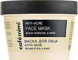 "Profumi e cosmetici Maschera viso ""Anti-acne"" - Cafe Mimi Face Mask"