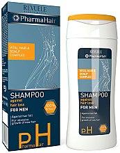 Profumi e cosmetici Shampoo anticaduta uomo - Revuele Pharma Hair Shampoo