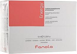 Profumi e cosmetici Lozione in fiale contro la caduta dei capelli - Fanola Energy Anti Hair Loss Lotion