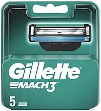 Profumi e cosmetici Lamette di ricambio, 5 pz. - Gillette Mach3