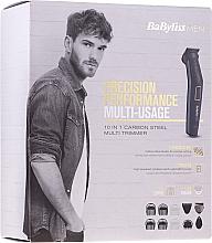 Profumi e cosmetici Multi trimmer 8 in 1 - BaByliss Men MT728E