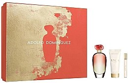 Profumi e cosmetici Adolfo Dominguez Unica Coral - Set (edt/100/ml+edt/10/ml+b/lotion/75/ml)