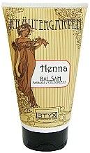 Profumi e cosmetici Balsamo per capelli colorati all'henné, incolore - Styx Naturcosmetic Henna Balsam
