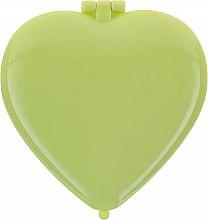 """Profumi e cosmetici Specchietto compatto """"Cuoricino"""", verde chiaro - Top Choice Colours Mirror"""
