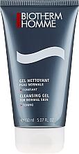 Profumi e cosmetici Gel detergente e tonificante per il viso, pelle normale - Biotherm Homme Gel Nettoyant