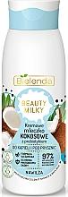 Profumi e cosmetici Latte da bagno e doccia - Bielenda Beauty Milky Moisturizing Coconut Shower & Bath Milk