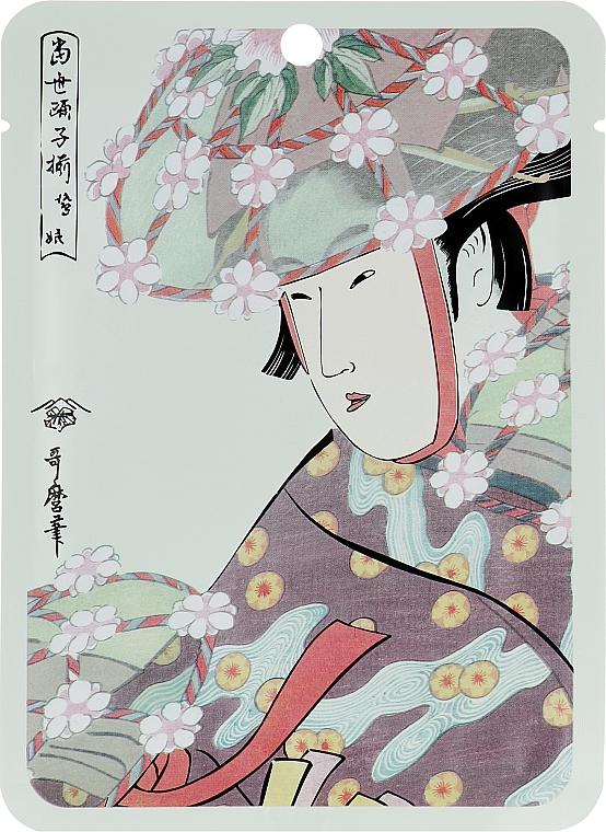 """Maschera viso in tessuto """"Aloe + Estratto di fiori di ciliegio"""" - Mitomo Aloe Cherry Blossom Facial Essence Mask"""