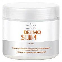 Profumi e cosmetici Maschera per intensa perdita di peso e rafforzamento - Farmona Professional Dermo Slim Intensively Slimming And Firming Mask