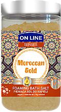 Profumi e cosmetici Sale da bagno - On Line Senses Bath Salt Moroccan Gold