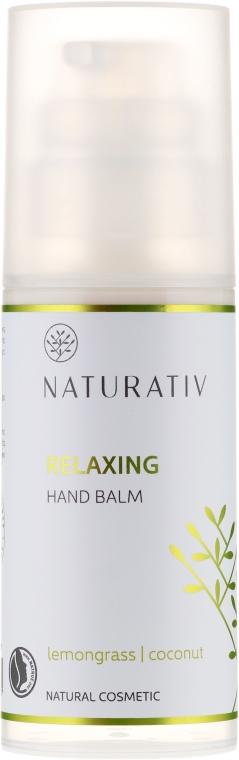 """Crema mani rilassante """"Lemongrass e cocco"""" - Naturativ Relaxing Hand Balm Lemongrass — foto N1"""