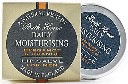 Profumi e cosmetici Balsamo labbra per uomo - Bath House Bergamot & Orange Lip Salve