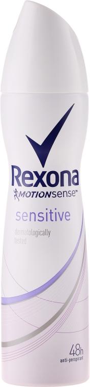 Deodorante-spray - Rexona MotionSense Sensitive 48h — foto N1