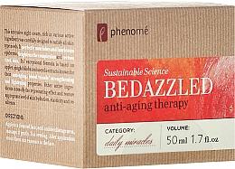 Profumi e cosmetici Crema viso antietà da notte - Phenome Sustainable Science Bedazzled Anti-Aging Therapy