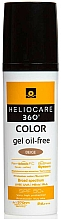 Profumi e cosmetici Gel solare a base d'acqua - Cantabria Labs Heliocare 360 Gel Oil Free Color