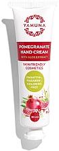 Profumi e cosmetici Crema mani al melograno con aloe vera - Yamuna Pomegranate Hand Cream With Aloe Vera