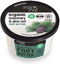 """Profumi e cosmetici Burro per piedi """"Cedro blu"""" - Organic shop Foot Butter Organic Cedar and Rose"""